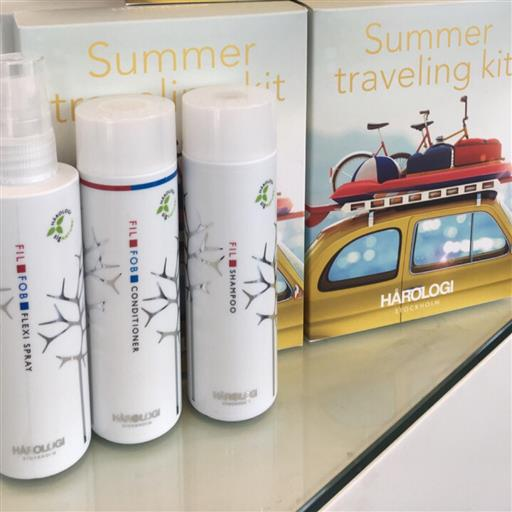 Sommarkit shampo, balsam, kurspray