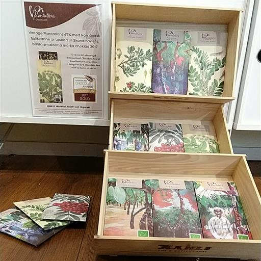 Prisbelönad choklad från Umeå