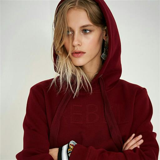 Rebel sweet hoodie från Denimhunter