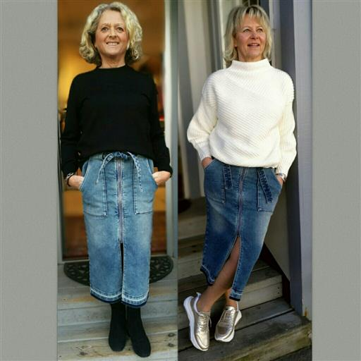 Jeans kjol från Denimhunter
