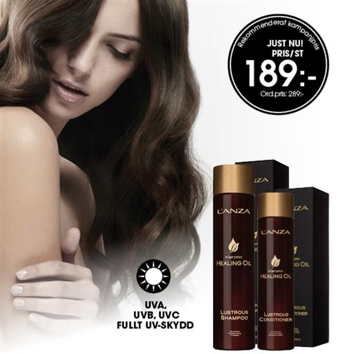 L'ANZA Healing Oil Shampoo & Conditioner
