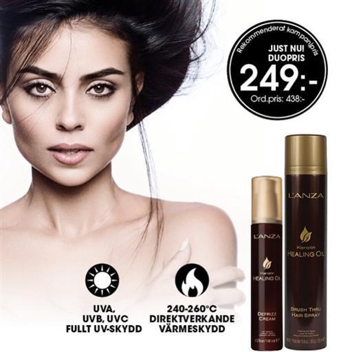 L'ANZA Defrizz Cream & Brush Thru Spray