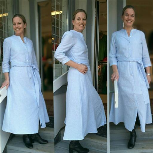 Linne klänning från Holebrook