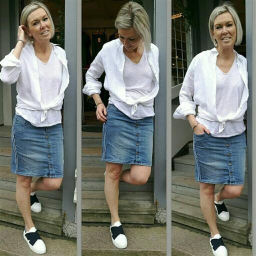 Jeans kjol från 2biz