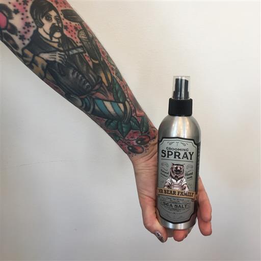 Grooming spray, saltvattenspray