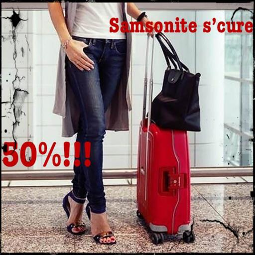 Samsonite s'cure 50%