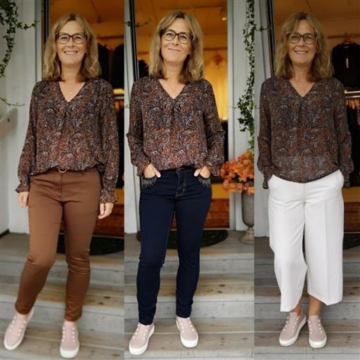 Delta blouse från Isay