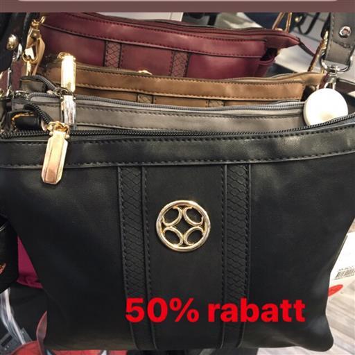50% på massor av trendiga väskor!