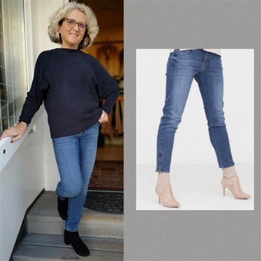 Lido zip jeans