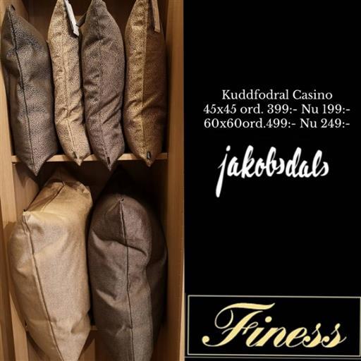 Casino kuddfodral från Jakobsdals