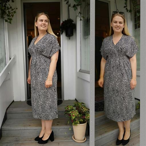 Viskose klänning från Isay