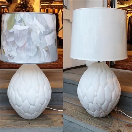 Honeycomb lampfot från Hallbergs belysning